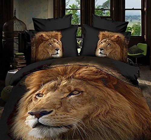 Lion Print Bedding