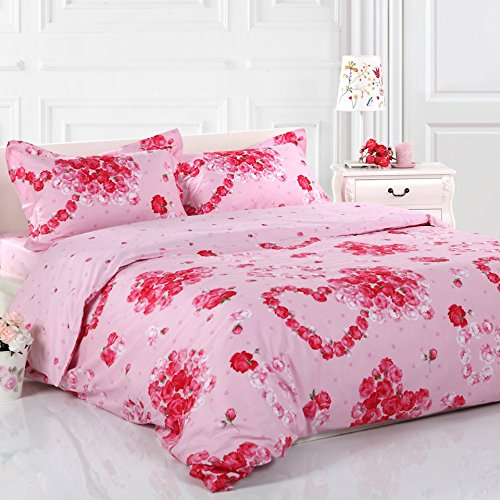 Cute Romantic Bedding Set