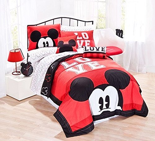 LOVE Mickey Mouse Quilt Set