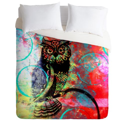 Owl Design Duvet Cover