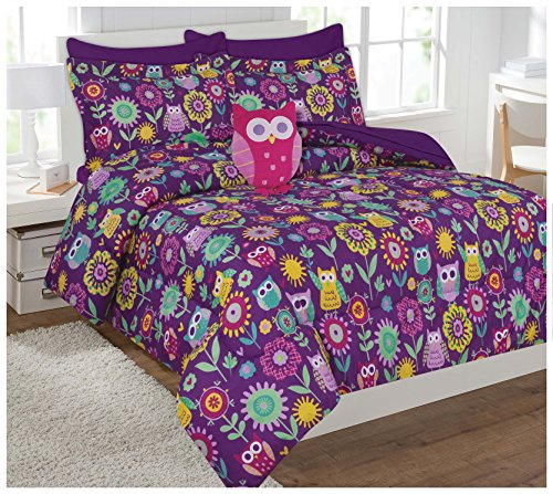 cute owls comforter set