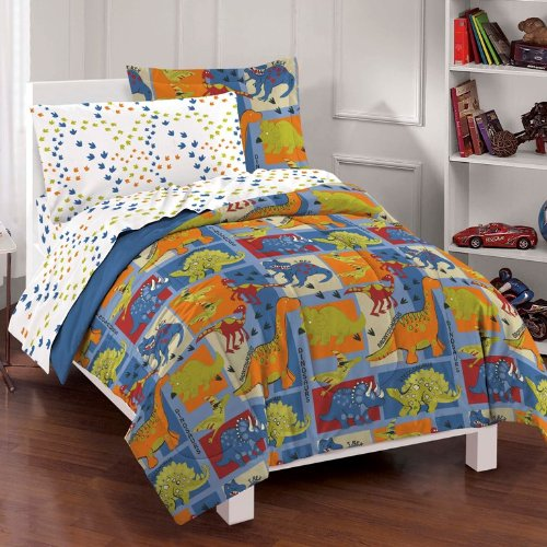 dinosaurs comforter set