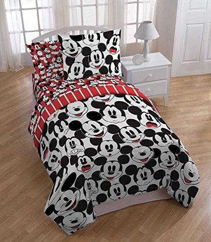 Mickey Mouse Faces Comforter Set