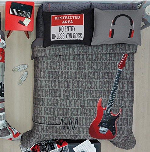 Guitar Design Comforter Set