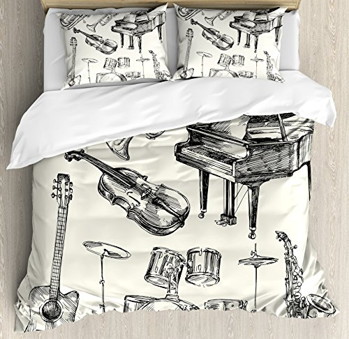 instruments design bedding