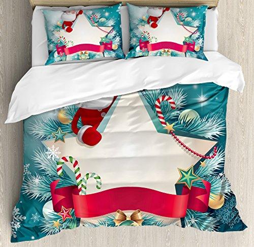 Christmas Decorations Duvet Cover