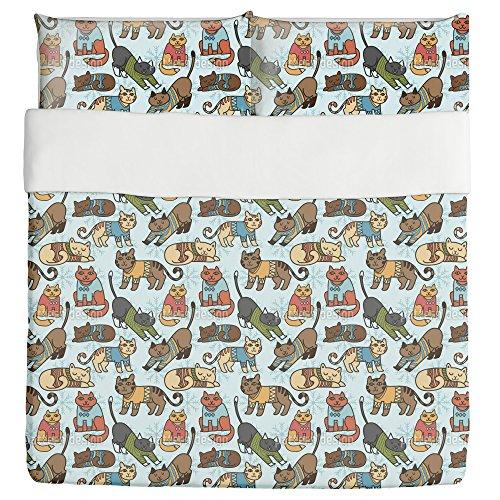 Cute Cats DesignDuvet Cover