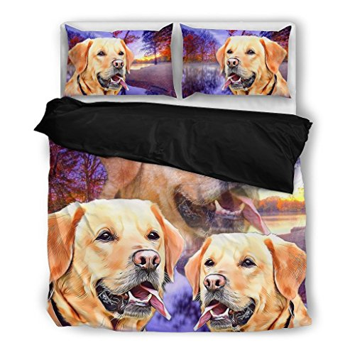 Cute Dog Print Bedding For Dog Lovers