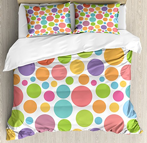 Cute Polka Dots Pattern Bedding Set