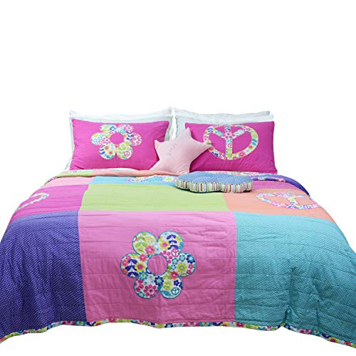 fun quilt set for teen girls