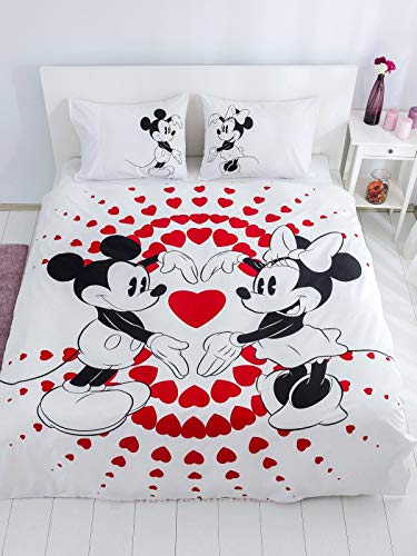 Minnie Mickey Mouse Bedding Set