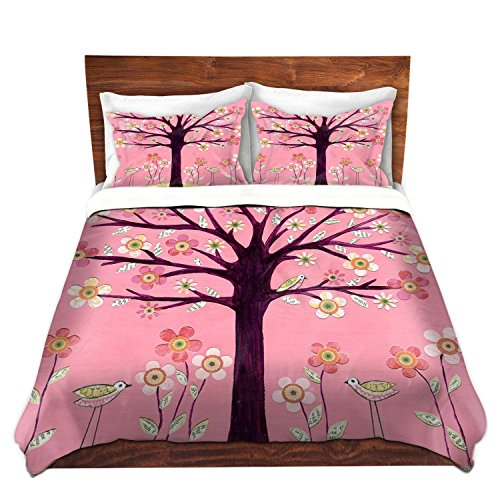 Pink Tree Design Bedding