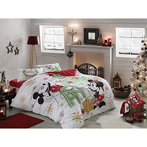 Mickey Minnie Happy New Year bedding set
