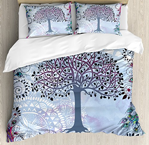 cute tree design bedding