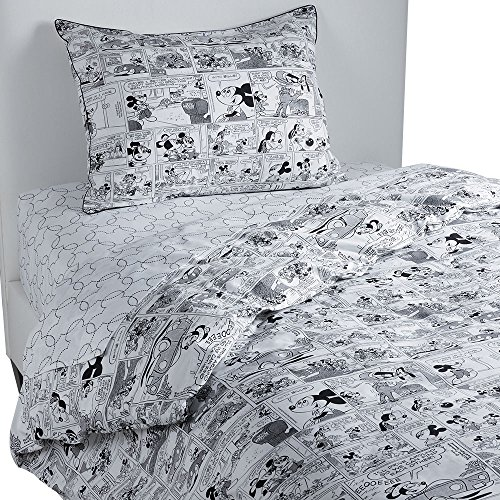 Black and White Mickey Mouse Duvet Cover